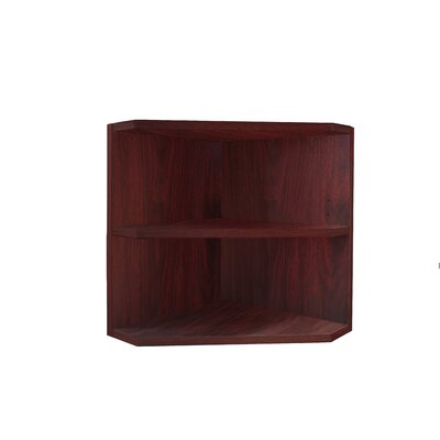 Medina Series 18 H x 15 W Desk Hutch Finish: Mahogany