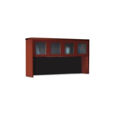 39.25 H x 72 W Desk Hutch Finish: Cherry