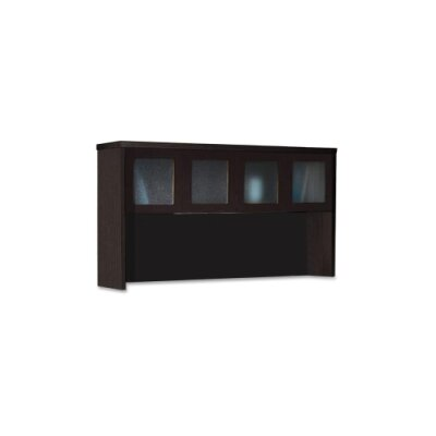 39.25 H x 72 W Desk Hutch Finish: Mocha