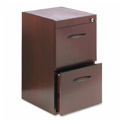 Corsica 27 H x 15.25 W Desk File Pedestal Finish: Mahogany