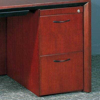 Corsica Series 27 H x 15.25 W Desk File Pedestal Finish: Sierra Cherry