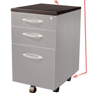 Aberdeen Desk File Pedestal Finish: Mocha