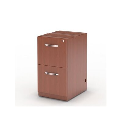Aberdeen 27.5 H x 15.25 W Desk File Pedestal Finish: Cherry
