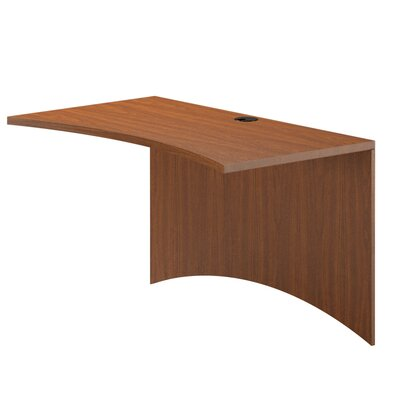 Brighton Series 29 H Desk Bridge Finish: Cherry, Size: 29 H x 48 W x 24 D