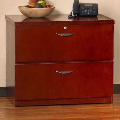 Mira 27.75 H x 34.63 W Desk File Pedestal Finish: Medium Cherry