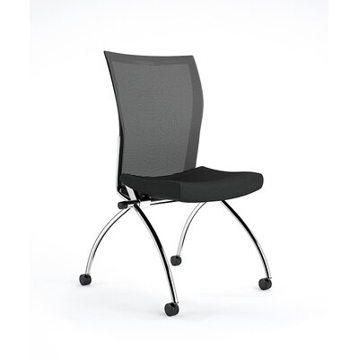 Valore Training Series Guest Chair Upholstery: Black