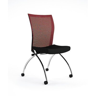 Valore Training Series Guest Chair Upholstery: Red