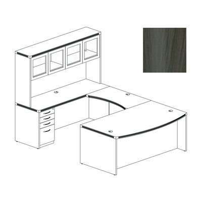 Aberdeen U Shape Desk Office Suite Product Picture 5798