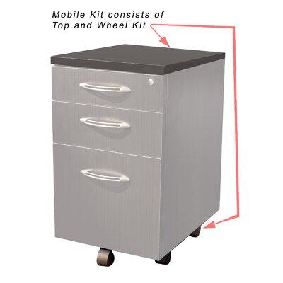 Aberdeen 25.79 H x 15.25 W Desk File Pedestal