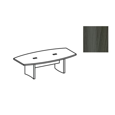 Aberdeen 8 Boat Shaped Conference Table