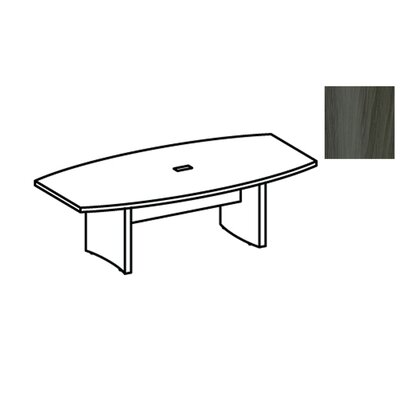 Aberdeen 6 Boat Shaped Conference Table
