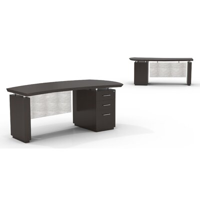 Lovable Pedestal Executive Desk Right Drawers Product Photo