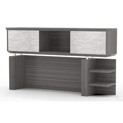 Sterling 41.13 H x 66 W Desk Hutch Finish: Textured Driftwood