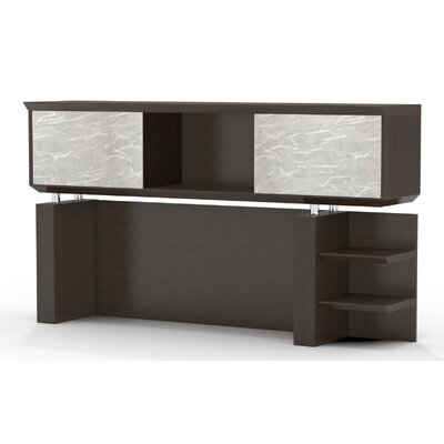 Sterling 41.13 H x 66 W Desk Hutch Finish: Textured Mocha