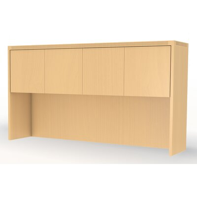 Aberdeen 39.13 H x 60 W Desk Hutch Finish: Gray Steel