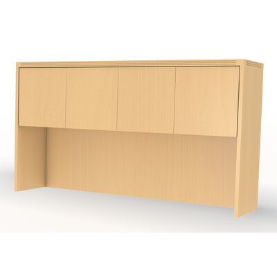 Aberdeen 39.13 H x 66 W Desk Hutch Finish: Maple