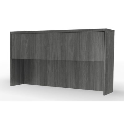 Aberdeen 39.13 H x 66 W Desk Hutch Finish: Gray Steel