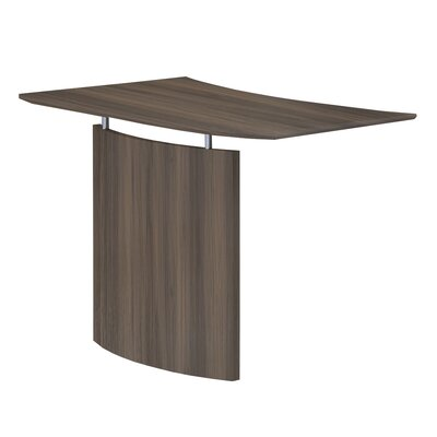 Medina 29.5 H x 48 W Desk Bridge Finish: Textured Brown Sugar