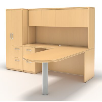 Aberdeen L Shape Desk Office Suite Product Picture 5798