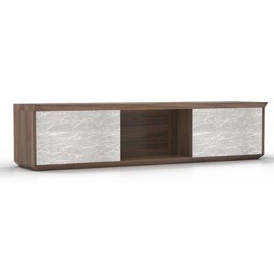 Sterling 16.5 H x 66 W Desk Hutch Finish: Textured Brown Sugar