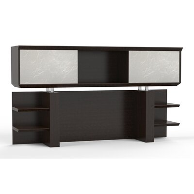 Sterling 41.13 H x 72 W Desk Hutch Finish: Textured Mocha