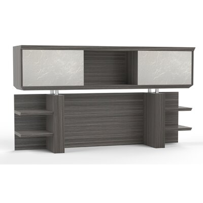 Sterling 41.13 H x 72 W Desk Hutch Finish: Textured Driftwood