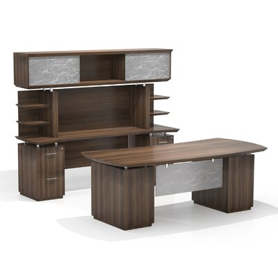 Beautiful Executive Desk Hutch Product Photo