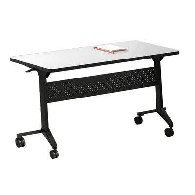 Flip-N-Go Training Table with Wheels Tabletop Finish: Folkstone, Size: 29 H x 48 W x 18 D