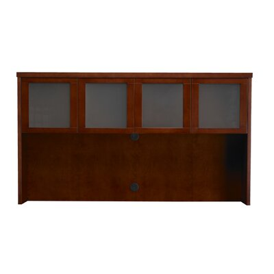 Mira Series 39 H x 70 W Desk Hutch Finish: Medium Cherry