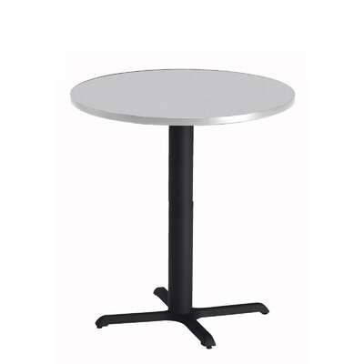 Bistro Bar Height Pub Table Tabletop Size: 36 W x 36 D, Finish: Ice Gray
