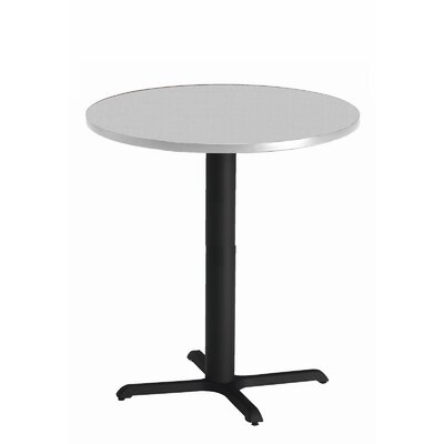 Bistro Bar Height Pub Table Tabletop Size: 30 W x 30 D, Finish: Ice Gray