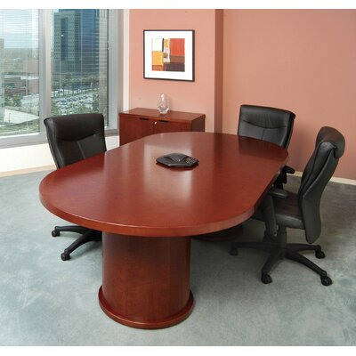 Mira Series 8 Conference Table Finish: Medium Cherry