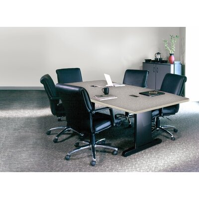 CSII Rectangular Conference Table Top Finish: Gray Nebula / Ice Gray, Size: 29 H x 42 W x 84 D
