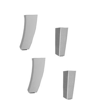Lounge Series Prestige Foot Kit Color: Silver Paint
