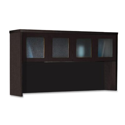 Aberdeen Series 39.25H x 72 W Desk Hutch Finish: Mocha
