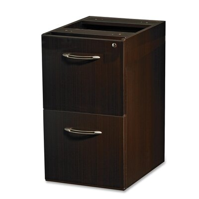 Aberdeen 27.5 H x 15.25 W Desk File Pedestal Finish: Mocha