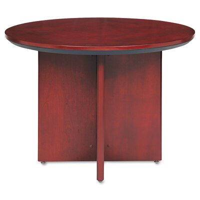 Corsica Series Circular 29.5H x 42W x 42L Conference Table Finish: Sierra Cherry