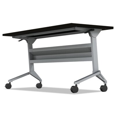 Flip-N-Go Table Base Table Base Finish: Silver, Table Base Size: 27.88 H x 70.5 W x 21.25 D