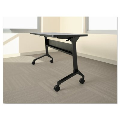 Flip-N-Go Table Base Table Base Finish: Silver, Table Base Size: 27.88 H x 58.88 W x 21.25 D