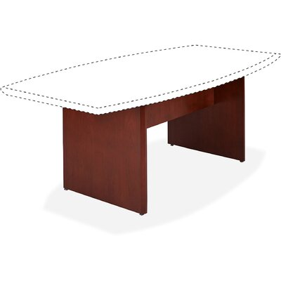 Corscia Conference Table Base Finish: Sierra Cherry