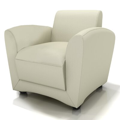 Santa Cruz Mobile Leather Lounge Chair Finish: Almond