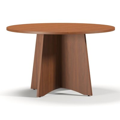 Brighton Series 4 Circular Conference Table Finish: Cherry