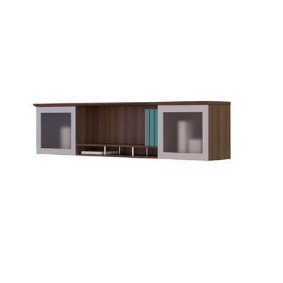 Medina Series 18.5 H x 72 W Desk Hutch Finish: Textured Brown Sugar