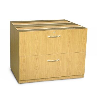 Aberdeen 27.5 H Desk File Pedestal Size: 36