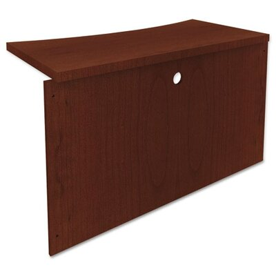 Mira Series 29.5 H x 45 W Desk Bridge Finish: Medium Cherry Product Photo 379