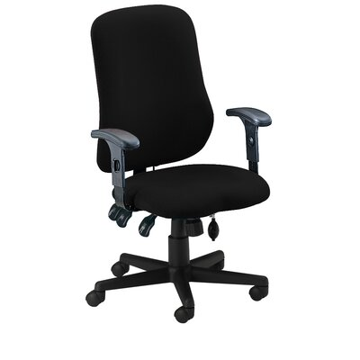 Comfort Series High-Back Task Chair with Arms Image 3832
