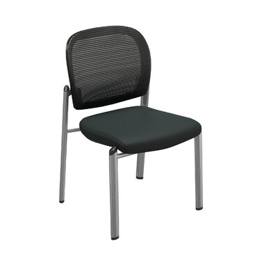 Bistro Series Valore Mid-Back Guest Chair Back Finish: Black