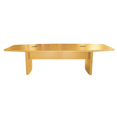 Aberdeen Series Boat Shaped Conference Table Size: 10 L, Finish: Maple