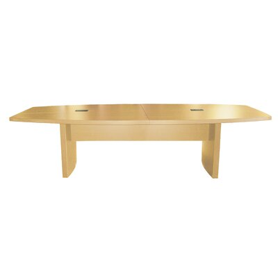 Gilberton Boat Shaped Conference Table Finish: Maple, Size: 12 L