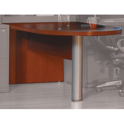 Aberdeen 29.5 H x 72 W Desk Peninsula Finish: Cherry